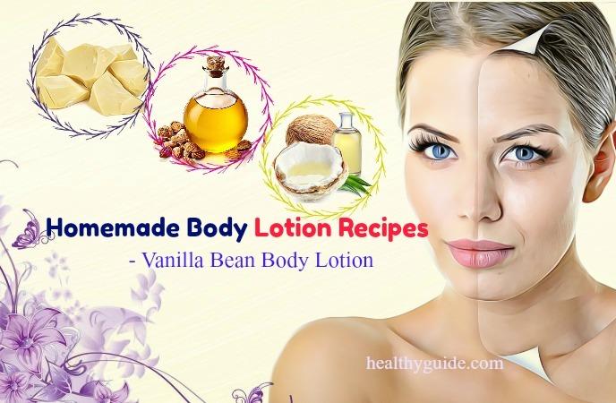 homemade body lotion recipes