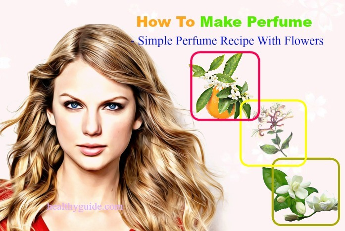 how to make perfume-simple perfume recipe with flowers