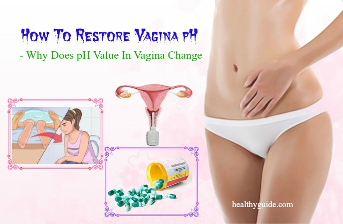 how to restore vaginal pH