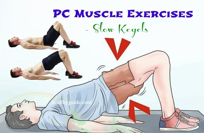 Kegel or pc muscle sexercises for women