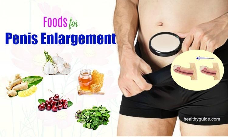 List of 48 Best Natural Foods for Penis Enlargement Men Should Know