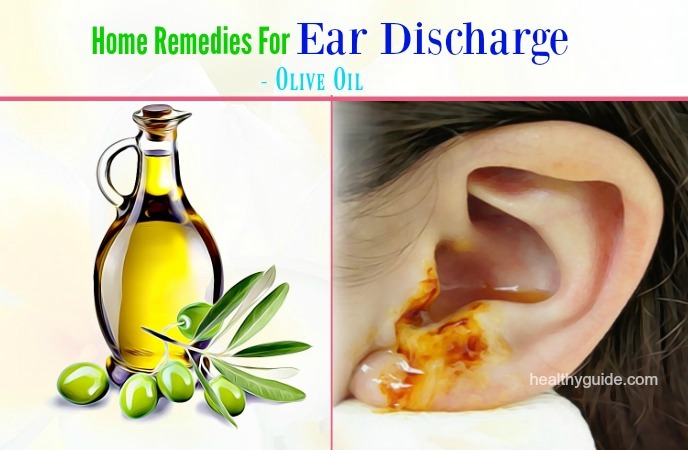 home remedies for ear discharge