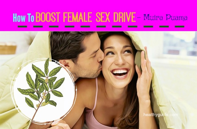 how to boost female sex drive