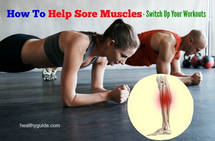how to help sore muscles