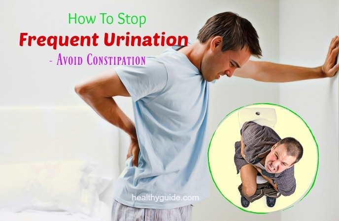 how to stop frequent urination