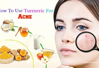 Tips How To Use Turmeric For Acne Scars, Spots And Pimple Treatment