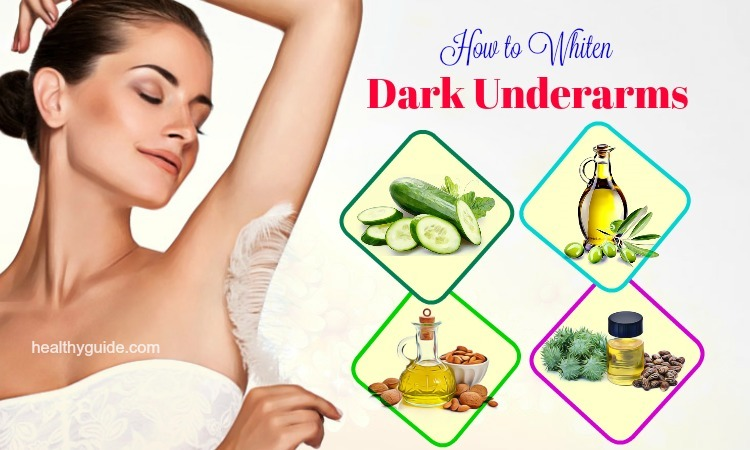 18 Tips How to Whiten Dark Underarms Fast Naturally at Home in a Week