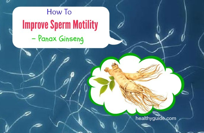 how to improve sperm motility