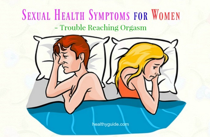 sexual health symptoms for women