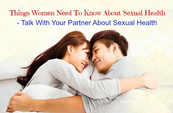 things women need to know about sexual health