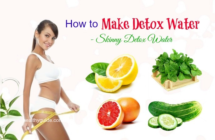 how to make detox water