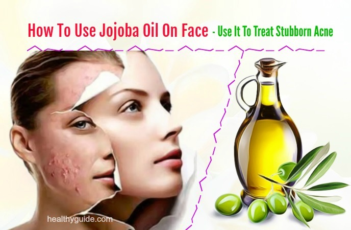 how to use jojoba oil on face